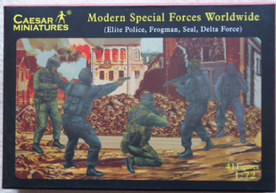 Caesar Miniatures 1/72 CMH061 Special Forces (Modern)